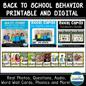picture of back to school behavior resources
