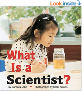 picture of book about scientist