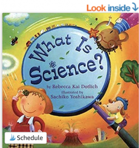 picture of a book about science