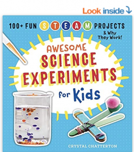 picture of book about experiments