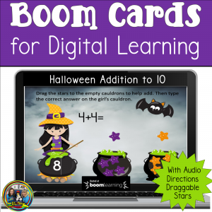 a picture of Halloween Math Game