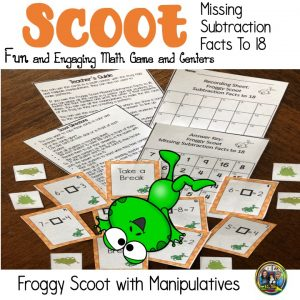 Froggy Scoot Math Game