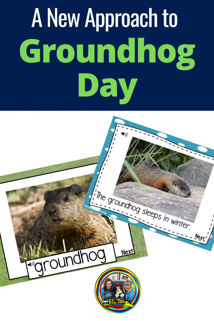 a picture of groundhog day activities