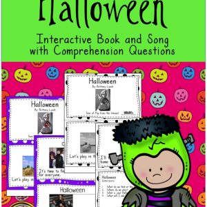 Halloween Vocabulary Book and Questions