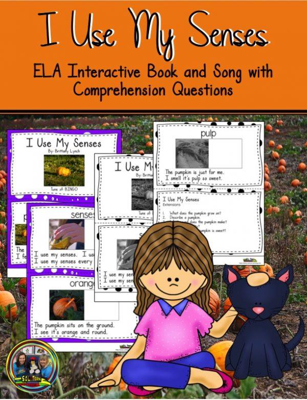 Pumpkin Senses with Questions